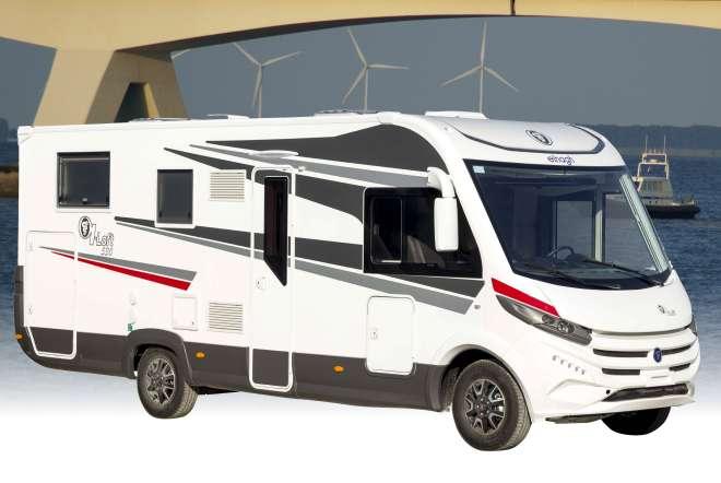 Elnagh I-Loft: exclusieve integraal campers